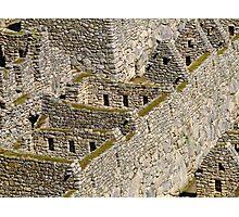 Una historia en los fragmentos de piedra Photographic Print