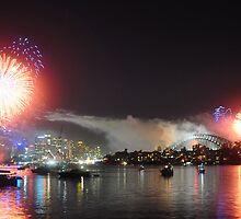 cremorne point fireworks by Leeda