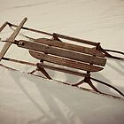 The Old Sled by Angi Allen