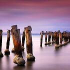 Old pier - Clifton Springs by Hans Kawitzki