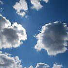 Blue Skies, Hiding Sun by tyrannous