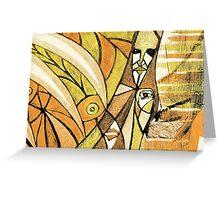 tree shaman Greeting Card