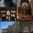 Winchester Cathedral Collage by Chris Day