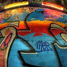 Graffiti Close Up by Guy Carpenter