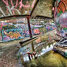 Graffiti and reflection by Guy Carpenter
