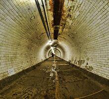 Greenwich Tunnel, London by Guy Carpenter