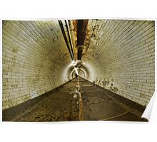 Greenwich Tunnel, London Poster