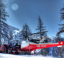 The Air Ambulance (HDR) by Ryan Davison Crisp