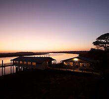 Sunset near Folly Beach, SC by Catherine Altice