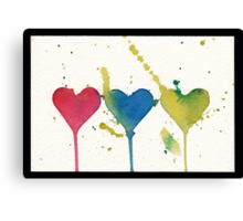 """""""tant d'amour"""" - So much Love Canvas Print"""
