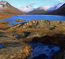 Blue Ice Wastwater by Linda Lyon
