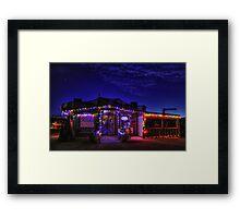 Dockside Restaurant Framed Print