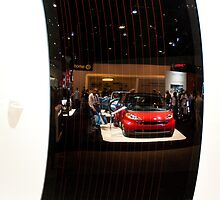 Reflections of the La Auto Show by LarryH