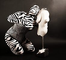 Zentai and Sculpture by ARTistCyberello