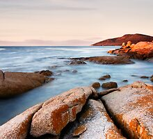 Seascape #10 - The Gulch, Bicheno, Tasmania by SusieWS