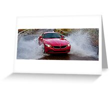 Red Zed Wet, Wet, Wet! Greeting Card