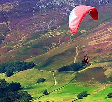 Hand Glider over Mamtor by fujigirl