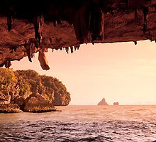 Cave on Ko Phing Kan by Kerry Dunstone