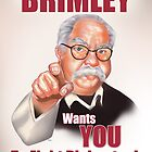 Wilford Brimley Propaganda poster by Terry  Parr