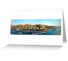Savona from the Sea Greeting Card