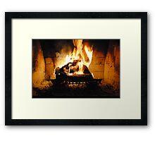 The Warm Spot Framed Print