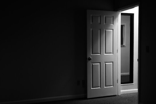Dark and mysterious room by Stephen Orsillo