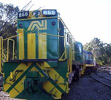Alco 866 and 1002 by Nathanart