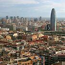 Cityscape of Barcelona by sumners