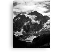 glacier on mt shuksan Canvas Print