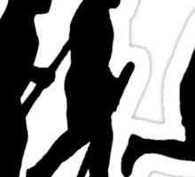 evolution of rugby Sticker