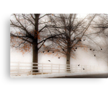 And Still the Birds Came Canvas Print