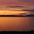 Sunset over Bute by manson44