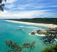 MAIN BEACH AT NORTH STRADBROKE ISLAND by Troy Curry