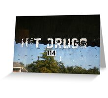 H&T Drugs Greeting Card