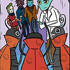 """Mantus and Company Meet the """"Lady Bugs"""" of the Planet Sherwood by RONBAXLEYJR"""