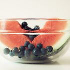 Blueberries & Watermelon by O. Joy