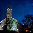 Church at Night by David  Guidas