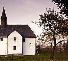 Wooden Tiled Chapel in Weihermühle by Kasia-D
