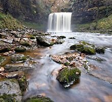 Sgwd yr Eira waterfall by Tony Bates