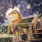 Parish church, Cranleigh by Ivor