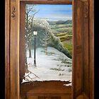 'Through the Wardrobe' - Fantasy, trompe l'oeil style by Eyes-of-Sol