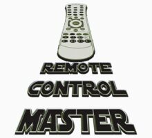 remote control master - sticker by vampvamp