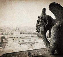 Gargoyles of Notre Dame, Paris by Joslin Hartley
