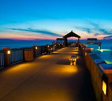 """""""Peer To Forever"""" - Pier 60 on Clearwater Beach Florida by John Hartung"""