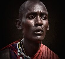 Maasai Warrior by Scott Carr
