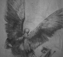 Winged Man by Nestor