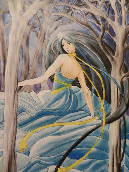 Dancing in the forest by Margherita Bientinesi