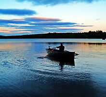 Summer Time Fishing. by Aj Finan