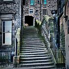 Edinburgh Steps by John Bullen