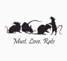 Must. Love. Rats 2011 - 4 Rats in a Row by MustLoveRats